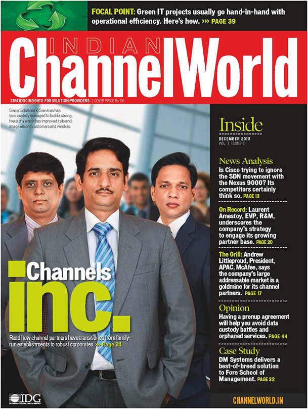 Swan makes the cover on Channel World's Corporatisation story