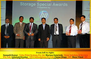 ChannelWorld Premier 100 Storage Award 2011