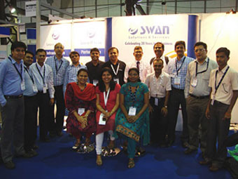 INTEROP 2011 - a success for Swan