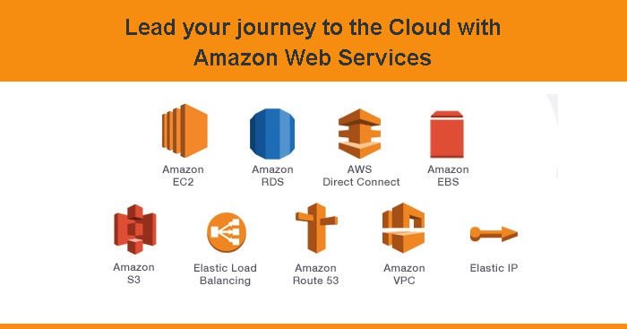 Lead your journey to the Cloud with Amazon Web Services
