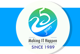 25 years Making IT Happen SINCE 1989