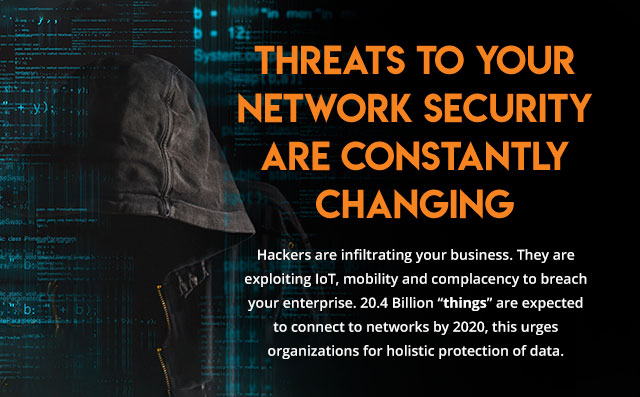 Threats To Your Network Security Are Constantly Changing