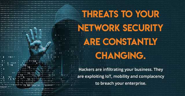 Threats To Your Network Security Are Constantly Changing.